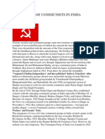 Emergence of Communists in India