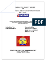 Banking Service and Investment Product of Hdfc Bank Gurav2