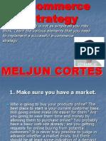 MELJUN CORTES E Commerce Strategy