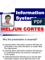 MELJUN CORTES Introduction to Information System