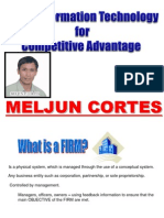 MELJUN CORTES MIS Competitive Advantage