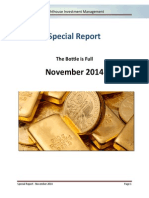 Lighthouse Investment Management - Special Report - 2014 November - The Bottle is Full