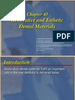 Restorative n Estethic Dental Material11xzc