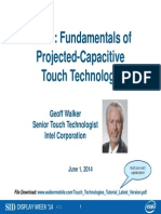 Touch Technologies Tutorial Latest Version