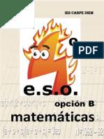 Libro Matematicas 4ESO Mat B