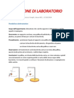 Relazione Di Laboratorio su tubi di crookes