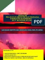 1.Prof. Dinan - MASALAH  PONEK DI 27 RSUD JABAR.ppt