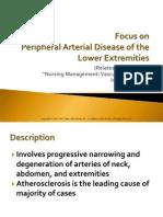 Ch 38 Peripheral Arterial Disease