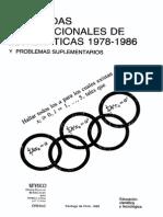 Olimpiadas Internacionales de Matematicas