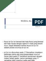NUZUL AL-QUR_AN