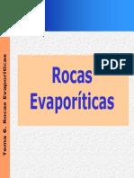 Rocas Evaporíticas