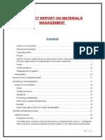33128132 Materials Management in Lanco Steel