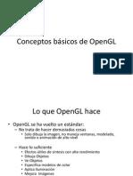 Conceptos Basicos de OpenGL