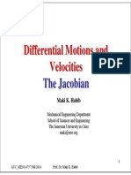 MENG 4757 Differential Motion and Jacobian