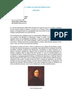 Jose de Espronceda - Vida, Obra y Cronologia