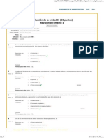 Evaluación de La Unidad II Fundamentos Administracion