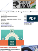 Presentation Enhancing Industrial Growth Through Excellence of Skilled Workforce