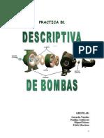 Descriptiva de Bombas