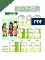 Calendário de Flúor - 2014.15