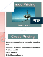 Crude Pricing