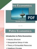 Introduction to Petro Economics