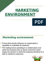 Lecture # 2 - Marketing Enviorment