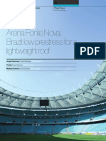 Arena Fonte Nova - Low Prestress for a Lightweight Roof