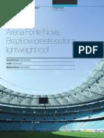 Arena Fonte Nova - Low Prestress for a Lightweight Roof