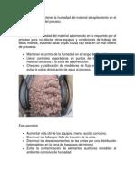 Importancia de Mantener La Humedad Del Material de Apilamiento en El Rango Operacional Del Proceso
