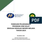 Panduan Pelaksanaan Program Jom Solat (1)