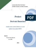 Proiect Derivate Financiare