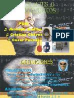 Aislantes o Deielectricos Jhoseph a. Cristian c.cesar p. #1