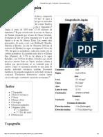 Geografía de Japón - Wikipedia, La Enciclopedia Libre