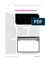 Looking Back at the Evolution of the Internet