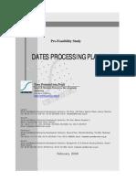SMEDA Dates Processing Plant