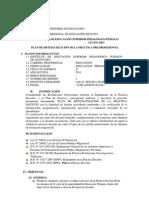 Plan de Sistematizacion de Practica Profesiona Incial y Primaria.l
