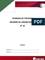 Lab 10- Theorema de Thevenin