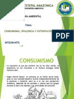 Economía Ambiental- Consumismo Opulencia y Ostentación
