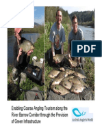 Enabling Coarse Angling Tourism Along the River Barrow
