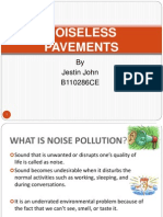 Noiseless Pavements