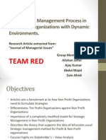 Articles review of How does the strategic management process differ for NGO