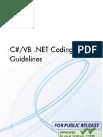 DotNet Coding Guidelines