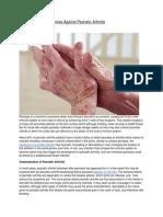 New Drug Shows Promise Against Psoriatic Arthritis