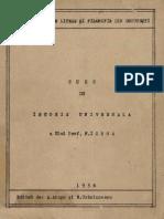 Nicolae Iorga - Curs de Istorie Universală