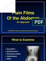 Approach to Plain Abdomen