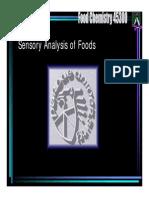 Sensory Analysis