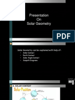 Solar geometry 2003 compatible.ppt