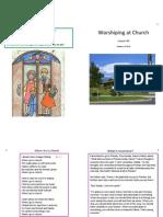 Lesson 40 Worshipping at Church