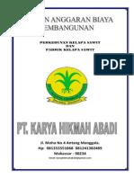 RAB PEMBANGUNAN PKS DAN PERKEBUNAN KELAPA SAWIT.pdf