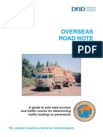 1_827_ORN_40 Axle Load Surveys and Traffic Counts for Traffic Loading